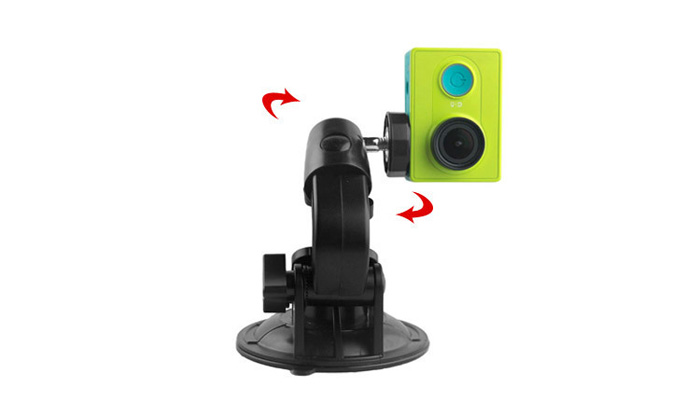 strong suction cup mount holder bracket for gopro camera recorder gps