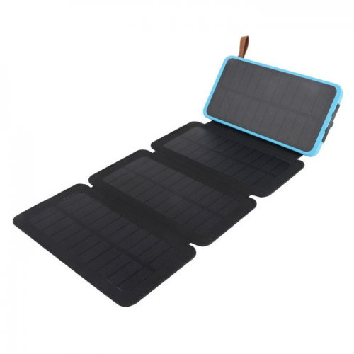 waterproof solar power bank solar phone charger
