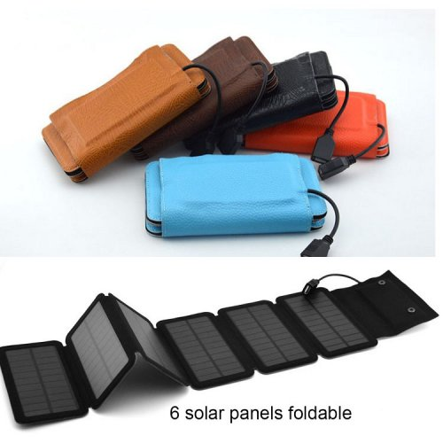 10W Folding Solar Panel Charger Waterproof Portable