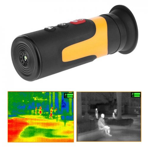 Thermal Monocular Infrared Camera Night Vision Scope Goggle