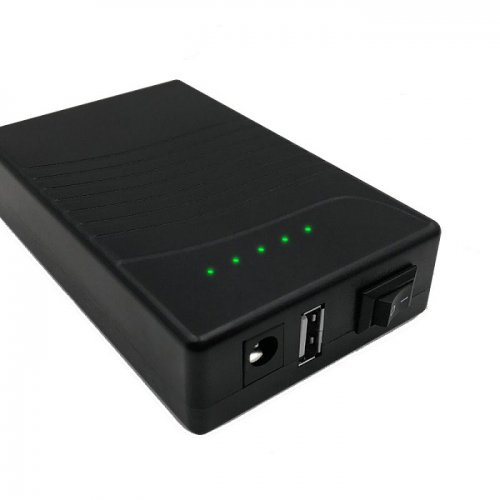 12v 9800mah battery pack power bank lithium-ion mini ups
